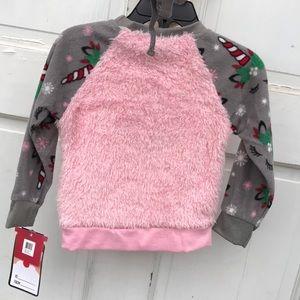 NWT PJ's & Presents 2 pc Unicorn Christmas Pajamas